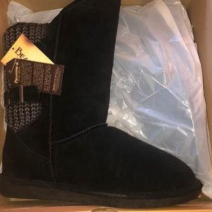 BOSHIE 1669W/BLACK ll BEAR PAW WINTER BOOTS